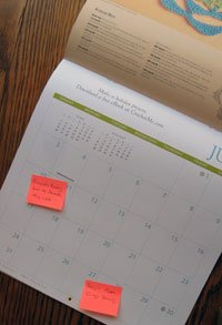 Interweave Crochet 2011 Calendar