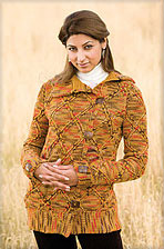 Aspenglow Sweater from Interweave Crochet Winter 2010