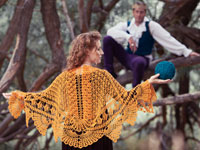Icarus Shawl