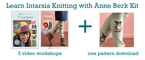 learn intarsia kit