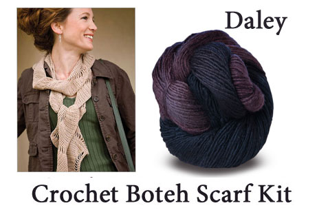 daley crocheted boteh scarf