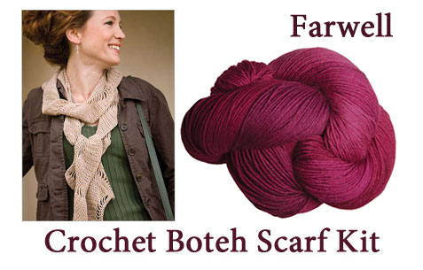 farwell boteh scarf kit