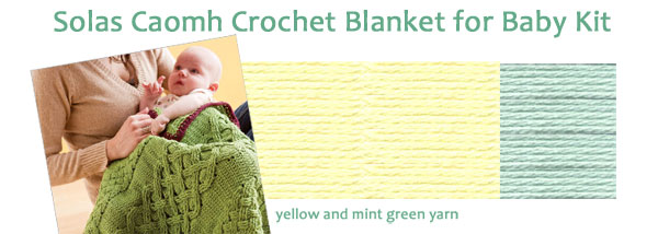 solas camoh blanket kit in yellow and green