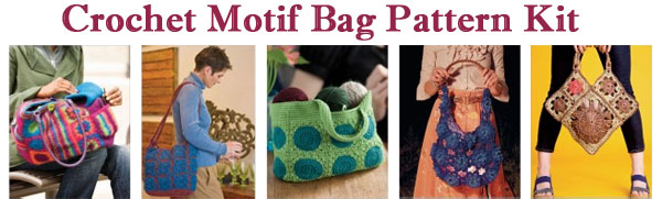 crochet bag patterns kit banner