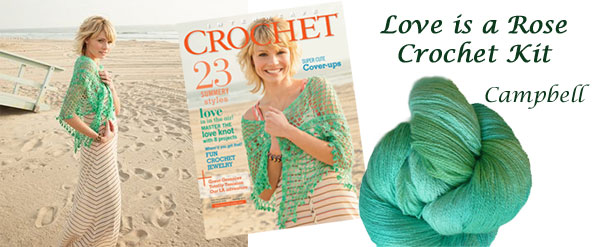 Campbell Love is a Rose Crochet Kit