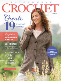 Fall interweave crochet magazine