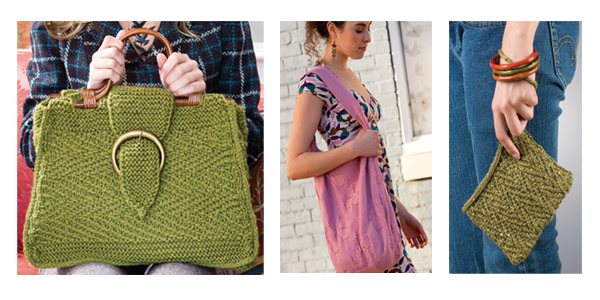 6 Knitted Bag Patterns