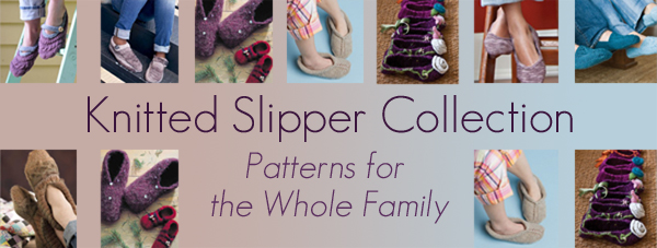 knitted slipper collection
