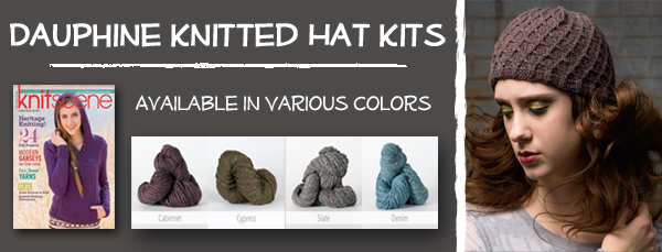 Dauphine Knitted Hat Kits