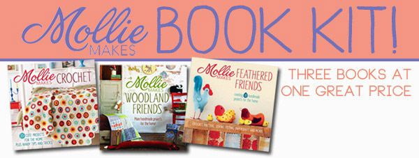 mollie makes book kit