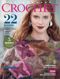interweave crochet winter 2014
