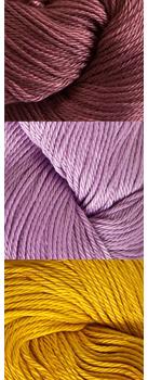 Pink Ella Slippers Crochet Kit