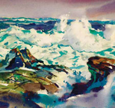 Learn how to capture the sea through close observation and other how to paint water techniques.