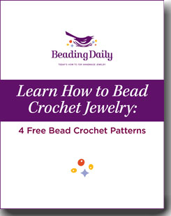 Learn how to crochet with beads