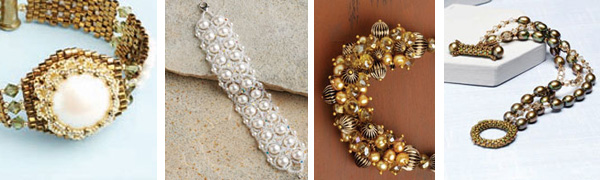 Free tutorial: diy pearl jewelry