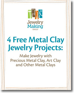 Download your free metal clay techniques and projects today!