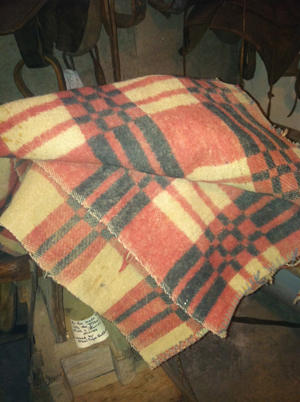 The Doubleweave Saddle Blanket