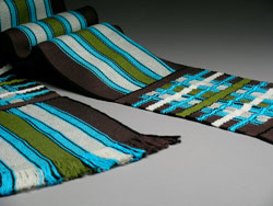 Ethic-inspired scarves by Suzanne Halvorson