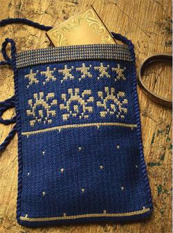 Doubleweave bag by Allison Irwin
