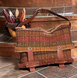 handwoven felted bag by Cei Lambert