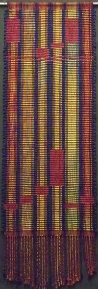 Liz's weaving