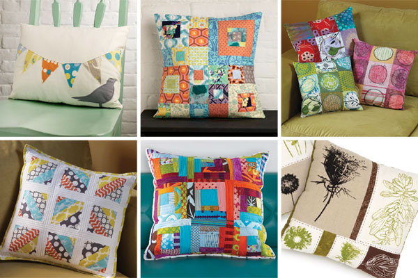 Stitch Patchwork Pillows eBook