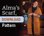 alma's scarf ad