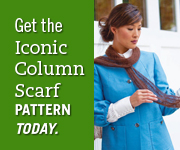 Iconic Calumn Scarf side ad