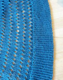 pi shawl detail