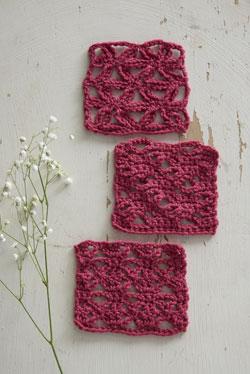 crochet floral lace stitches