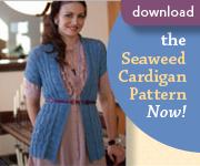 Seaweed Cardigan Side ad