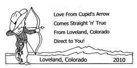 This 2010 Loveland Stamp