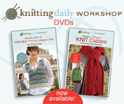 Discover Knitting Workshop DVDs - Click Here