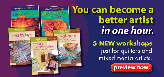 Discover Quilting Workshop DVDs - Click Here