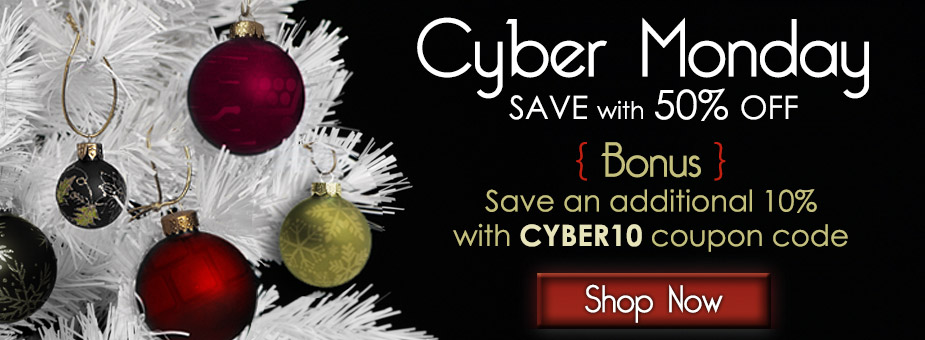 50% off throughout the store + 10% off with code CYBER10!