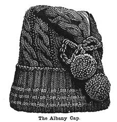 Weldon's Practical Knitter, Albany Cap