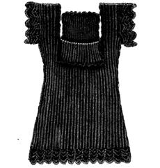 Weldon's Practical Knitter, Series 19: Child's Shetland Chemise