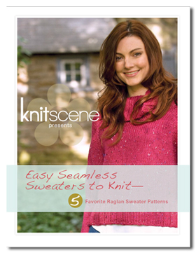 knitscene presents easy seamless sweaters