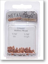 Copper Hollow Rivets
