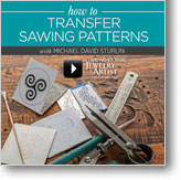 How to Transfer Sawing Patterns