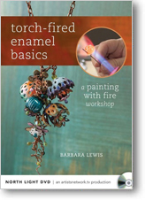 Torch Fired Enamel Basics: A painting with Fire Workshop DVD