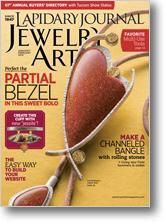 Lapidary Journal Jewelry Artist Jan/Feb 2014