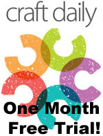 Craft Daily One Month Free Trial!