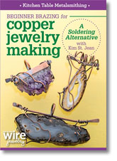 Kitchen Table Metalsmithing: Beginner Brazing for Copper Jewelry Making