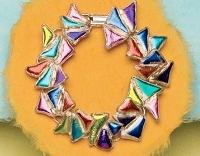 Deborah Read's Dichroic Mosaic Bracelet