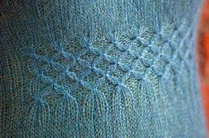 Smock stitch