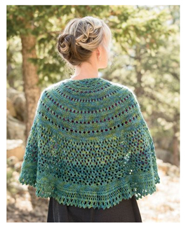 Monsoon Knitted Shawl Kit
