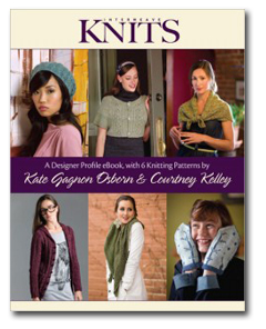 Designer Profile eBook with 6 Knitting Patterns by Courtney Kelley and Kate Gagnon Osborn