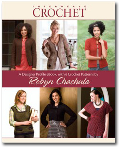 Designer Profile eBook with 6 Crochet Patterns by Robyn Chachula