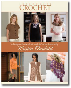 Designer Profile eBook with 6 Crochet Patterns by Kristin Omdahl